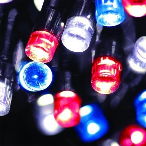 Flipo solar powered led string lights 50 leds