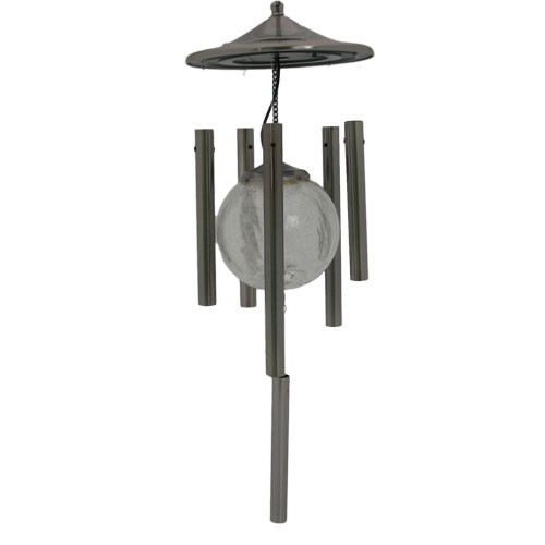 Flipo Stainless Steel Solar Powered Color Changing Wind Chime