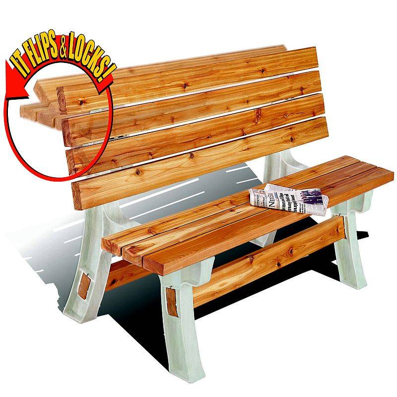 2x4 Basics Flip Top Bench And Table 90110