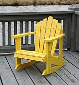 Child Adirondack Rocking Chairs