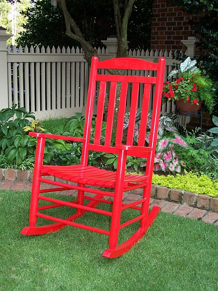 Slat Back Rocking Chair Ofrf