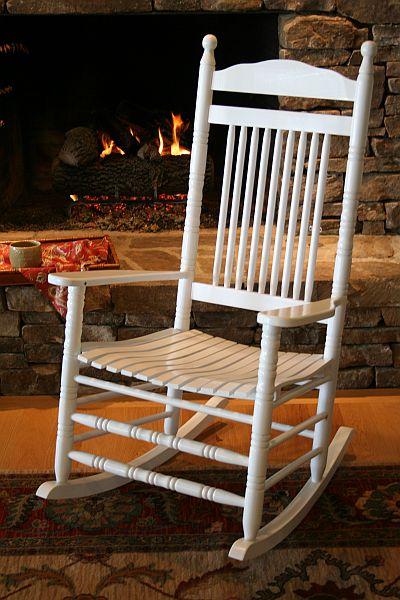 antique black walnut wood rocking chair leather seatebay cheap