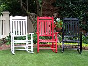 Slat Back Rocking Chairs