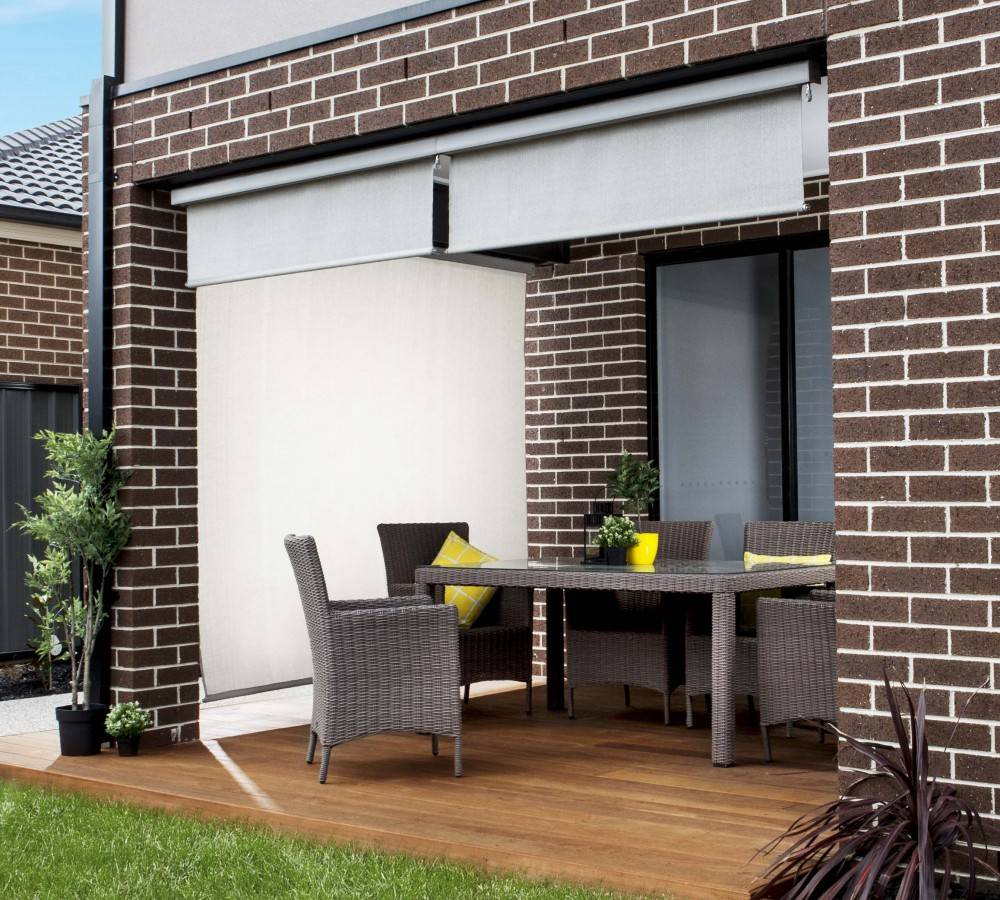 Solar shade gallery - Coolaroo exterior retractable window shades ...