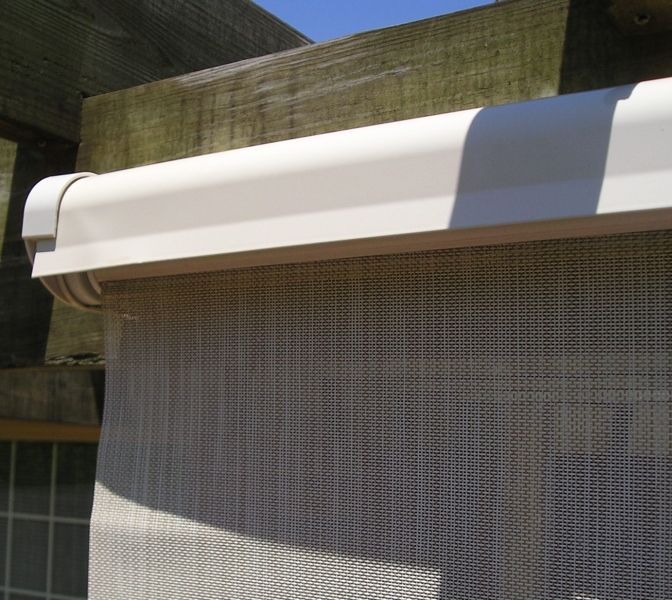 Coolaroo Exterior Sun Shades. Roll Up Exterior Sun Shades Coolaroo ...