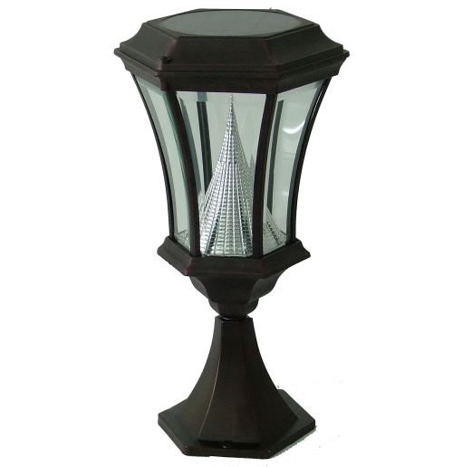 solar lamp post light light only tweet