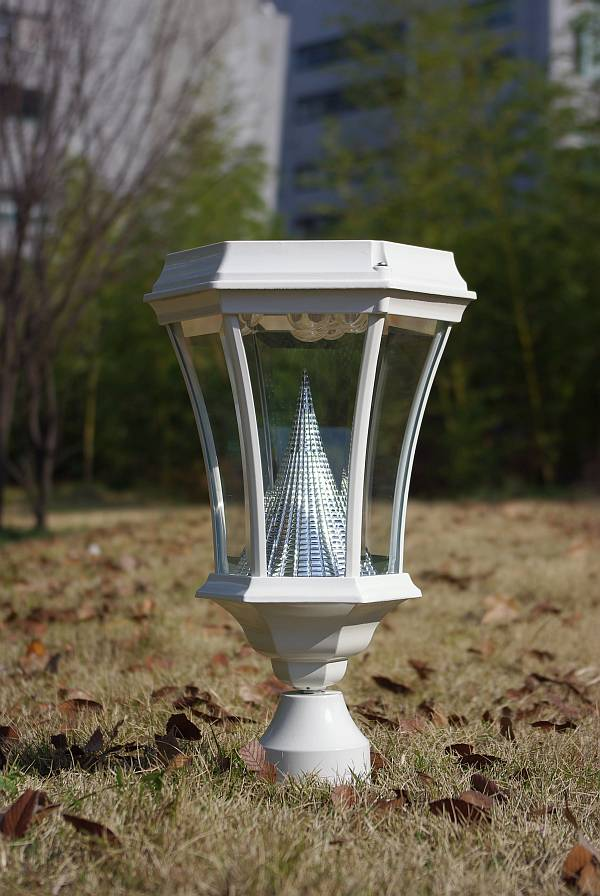 Solar lamp post light gs 94 existing lamp post replacement mozeypictures Gallery