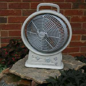 Outdoor Fan with Radio