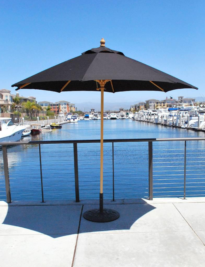 f37e5f3872d7e 9 Ft Commercial Use Wood Market Umbrella - Made in the Shade by ...