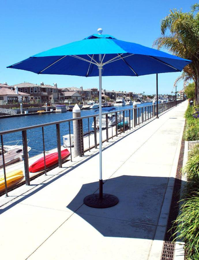 Commercial Outdoor Patio Umbrellas, Cantilever, Offset, Market