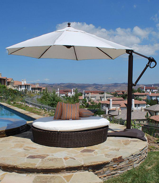 Cantilever umbrella in Patio Umbrellas - Compare Prices, Read
