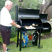 Backyard BBQ Smoker