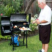 Patio BBQ Smoker