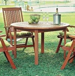 Groovy Milano Outdoor Round Dining Table Gmtry Best Dining Table And Chair Ideas Images Gmtryco
