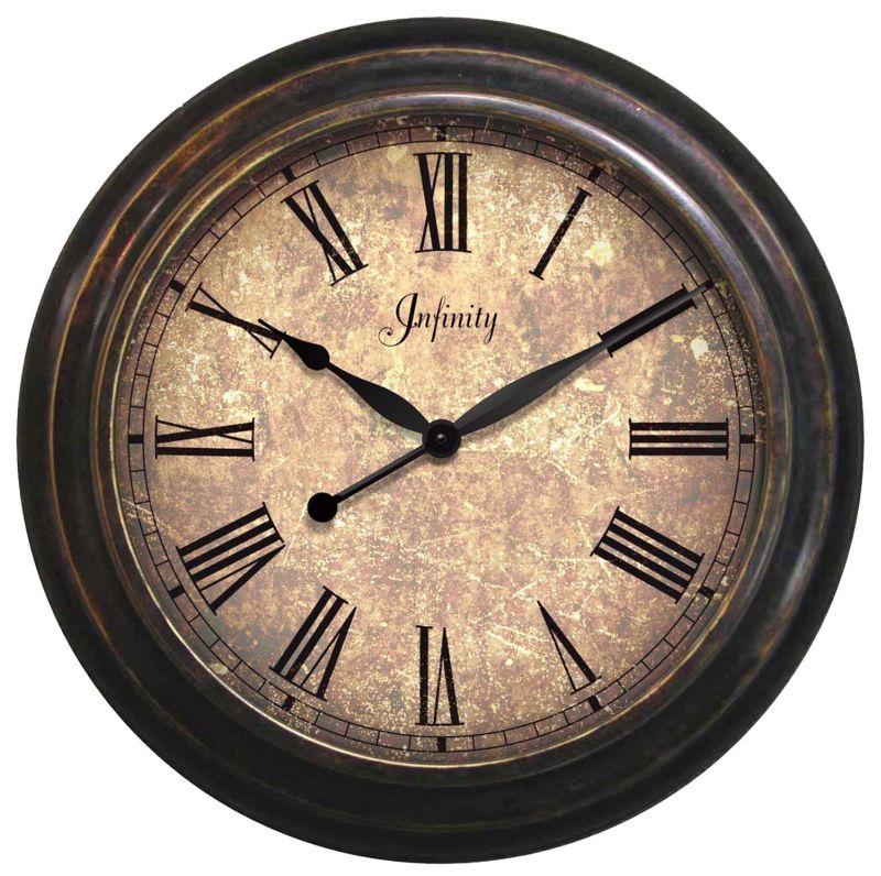 Lothario Metal Outdoor Clock 12503ar 1675