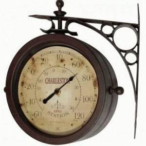 Charleston Indoor Outdoor Clock 12430ct Ruv2