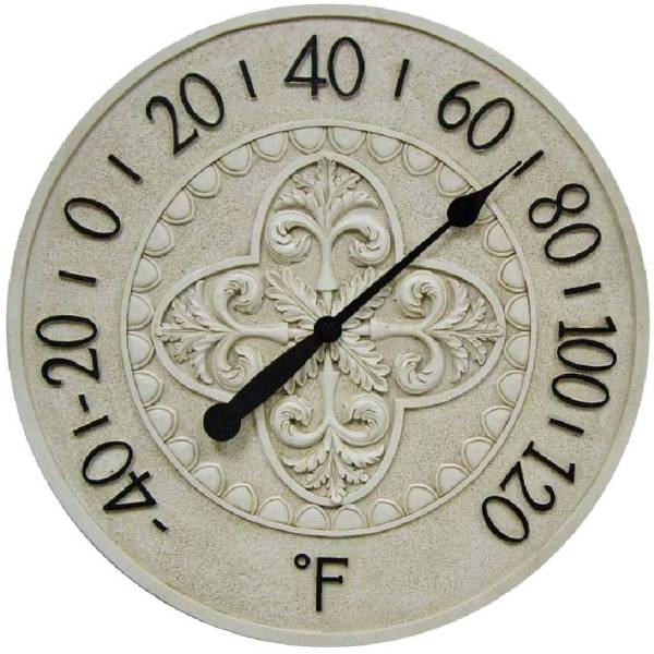 center atomic crosse la decorative in clock wt technology depot pewter the clocks analog thermometer b outdoors home outdoor garden decor dt n