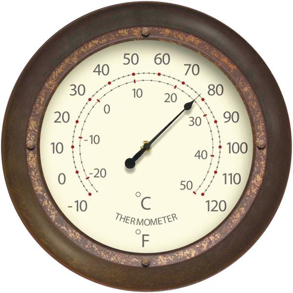 Indoor Outdoor Oversized Thermometer 12389ru 1718
