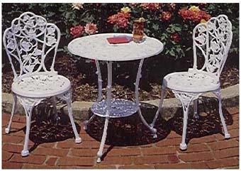 Patio Furniture Grape Bistro Set Table F1018