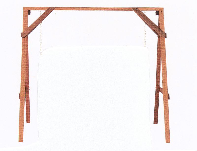 Build Backyard Swing Frame
