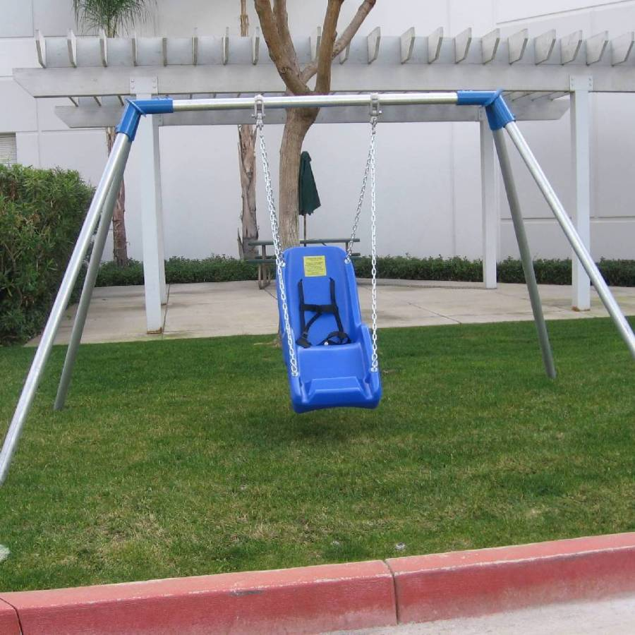 jennswing indoor outdoor swing frame single