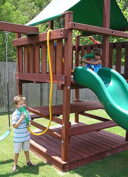 Talk Tubes Plastic Intercoms For Playsets
