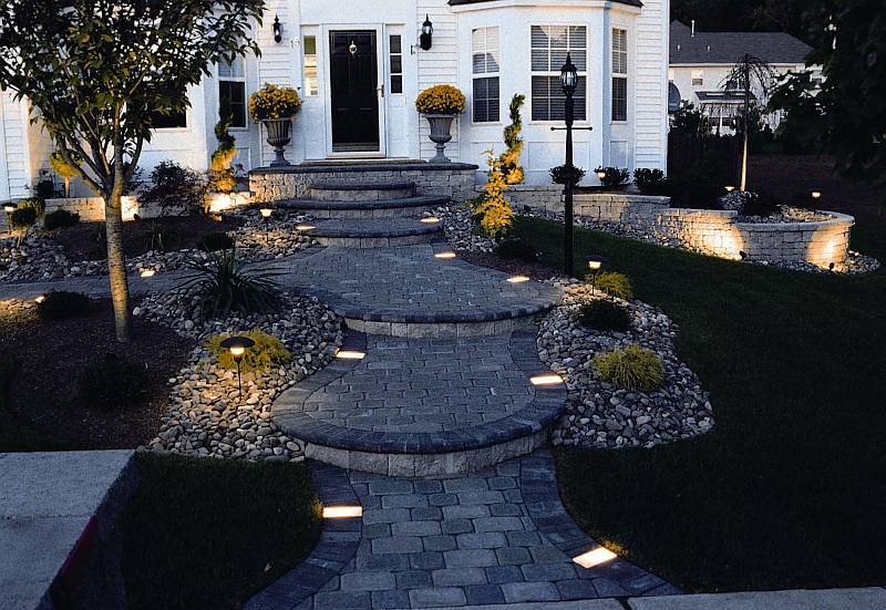 High Voltage Outdoor Lighting Low voltage landscape lighting workwithnaturefo