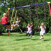 Kettler Deluxe 4 Child Swing Set