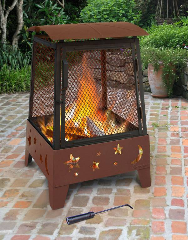 Haywood Stars And Moons Fire Pit 25296