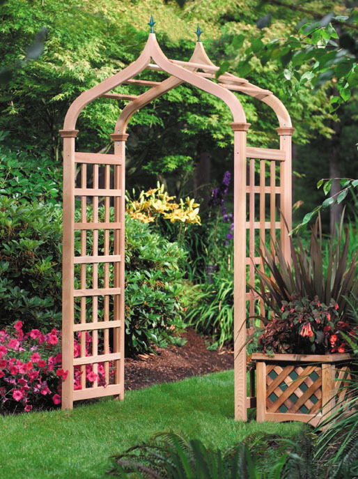 Garden Arbors Make an Easy Way to Enhance Any Yard