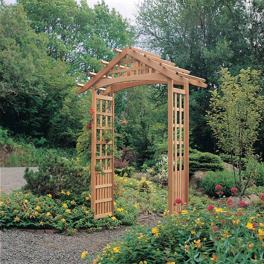 Arbor trellis plans pictures to pin on pinterest pinsdaddy for Garden trellis ideas