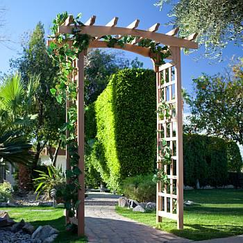 Garden Arbors, Arches U0026 Trellises