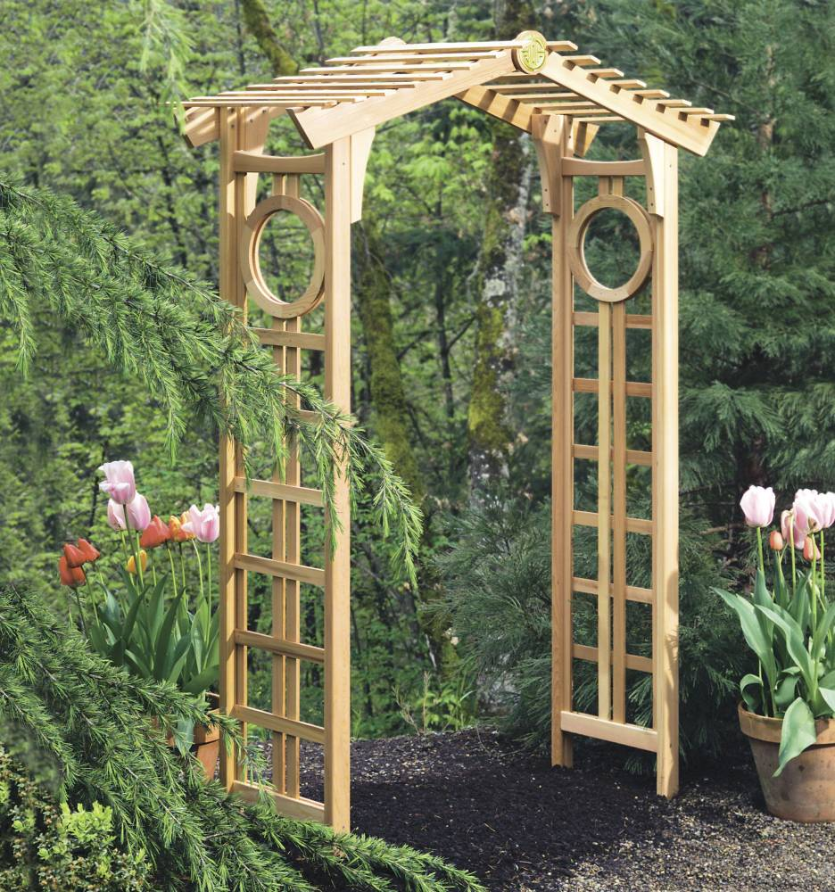 Pdf diy garden arbor plans designs download gun cabinet for Garden archway designs