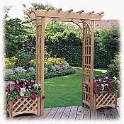 Garden Arch Trellis Plans