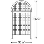 Andover Screen Dimensions