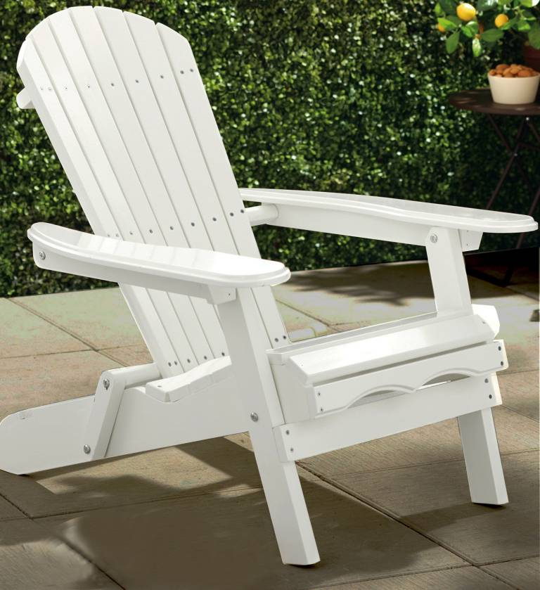 Painted simple adirondack chair mpg ac01wp