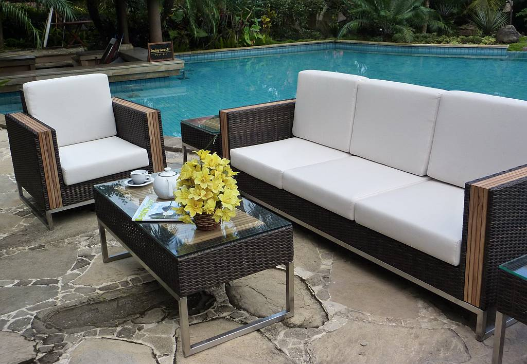 Marabella Resin Wicker Patio Furniture Set 888