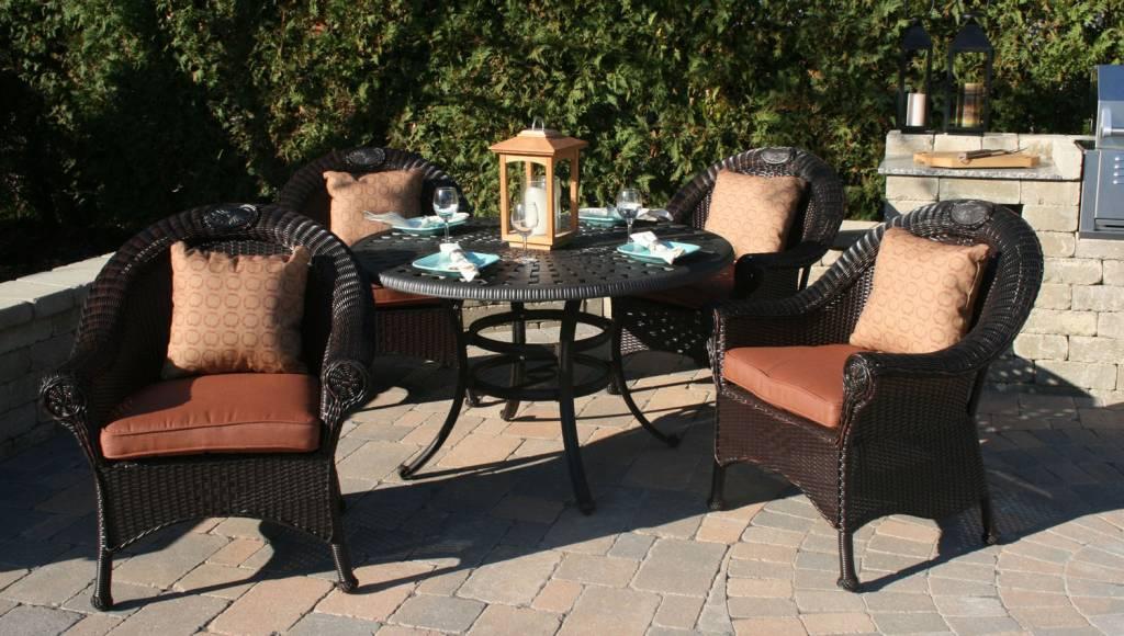 Furniture gt living room furniture gt wicker gt 4 piece resin wicker