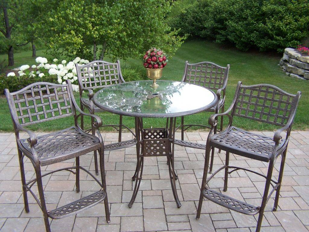 How to clean rust stains on patio furniture gazebo for Small metal patio set