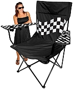 Black / Checkered Kingpin Chair