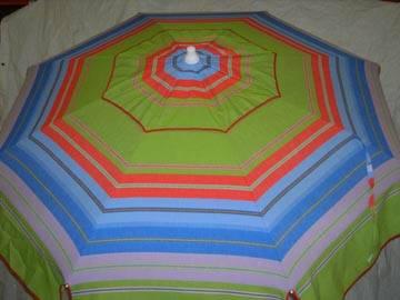 Patio Amp Beach Umbrella Green Amp Blue Stripe Mtc14 3