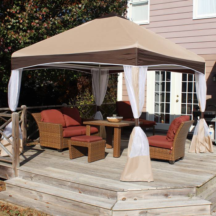 Garden Party Canopy 10ft Square