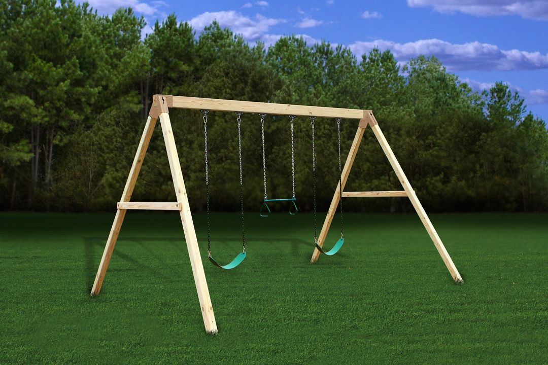 Settler A Frame Swing Beam Kit Freetstanding Easy Diy Build 3d