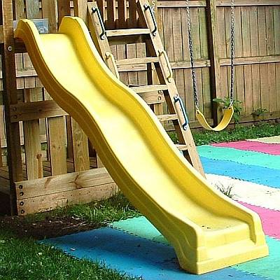 Wave Slide Straight For 4ft Or 5ft Deck Heights Residential