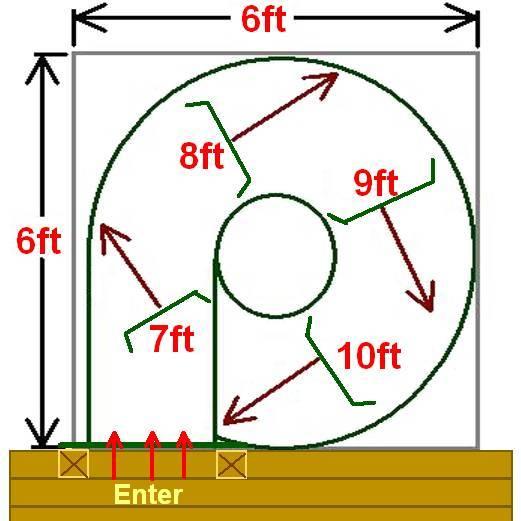 Spiral Slide Exit Directions