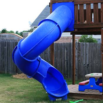 Super Tube Spiral Slide 7ft 8ft 9ft 10ft Decks Starts