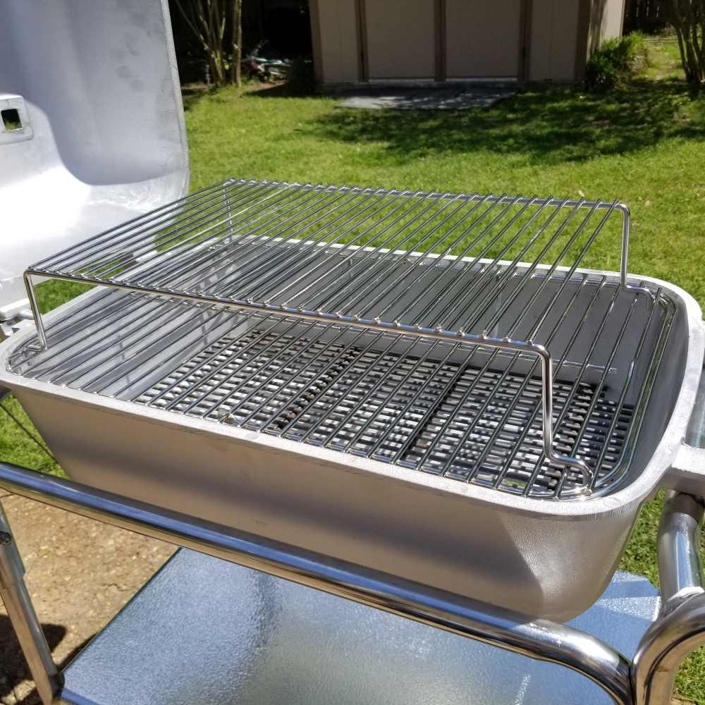 The Original Pk Grill And Smoker Cast Aluminum No Rusting