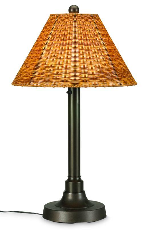 shangri la bronze tall table lamp 11217 13217