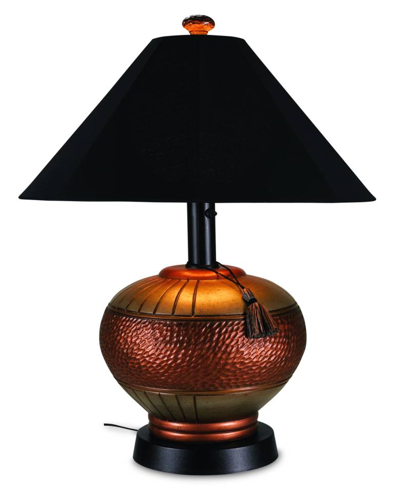 Phoenix copper resin table lamp 53917 phoenix copper resin table lamp click for larger view aloadofball Choice Image