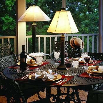 outdoor patio lamp floor table waterproof. Black Bedroom Furniture Sets. Home Design Ideas